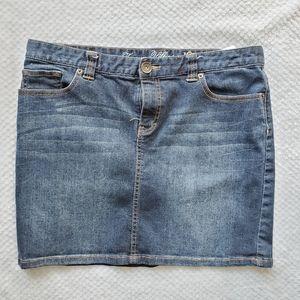 Tommy Hilfiger Blue Denim Skirt Size 12